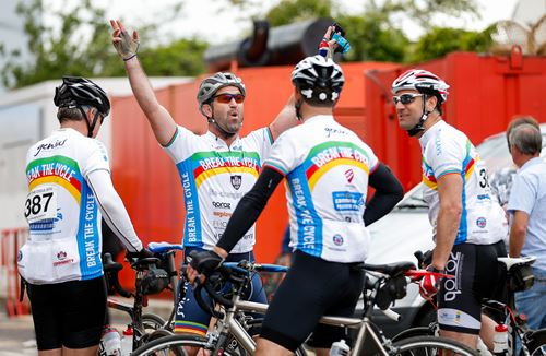 Cyclists Given Fundraising Boost For Break The Cycle