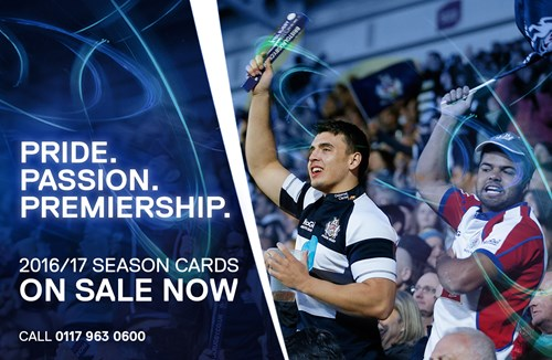 2016/17 Season Cards On Sale Until Friday