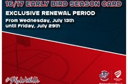 Bristol Flyers 2016/17 Season Cards Now Available For Renewal