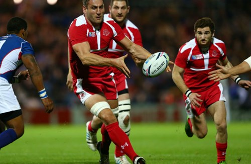 Nemsadze's Georgia give Wales a fright, Samoa and Tonga suffer defeats