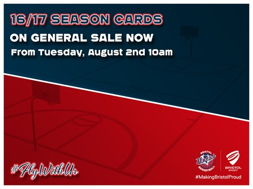 Flyers 2016/17 Season Cards Now On General Sale