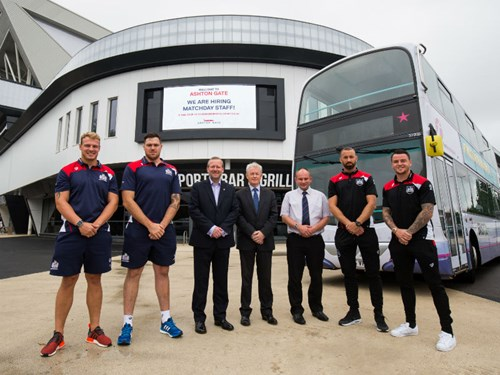 Ashton Gate And First Bristol Announce New Bus Links For Stadium