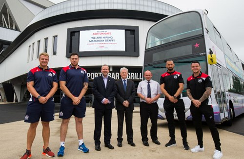 Supporters Information: Rugby Shuttle Bus Service