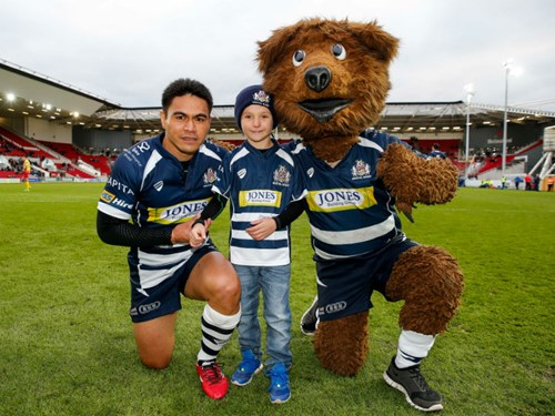 Bristol Rugby Matchday Mascot Packages Available