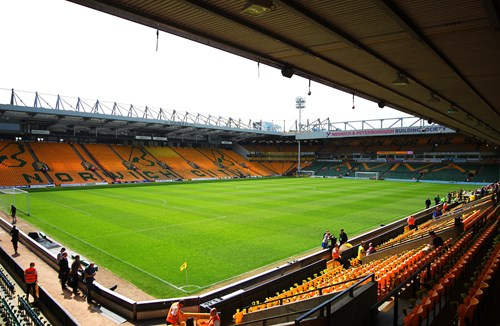 Norwich away tickets available from Monday