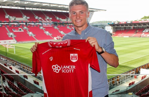 City Sign England U19 International Defender