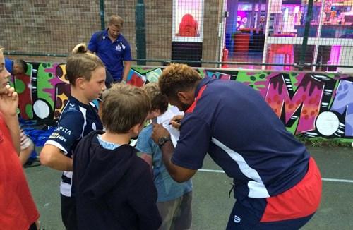 Urban Rugby Squad Launches At Patchway Youth Centre
