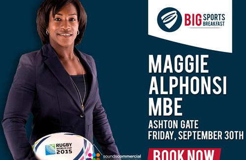 Maggie Alphonsi MBE Announced As Next Big Sports Speaker