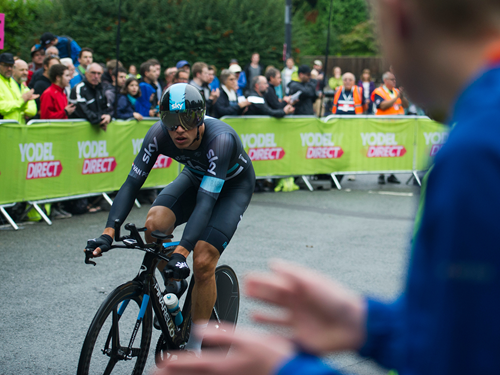 Thousands Line the Streets Of Bristol For Tour Of Britain