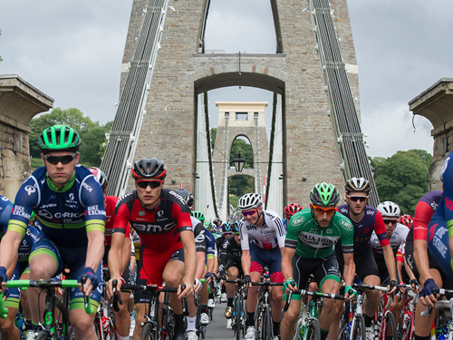 Gallery: Tour Of Britain Rides Through Bristol