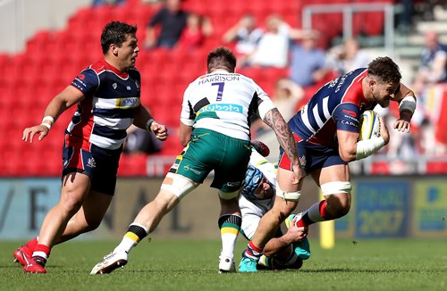 REPORT: Bristol Rugby 10 - 32 Northampton Saints