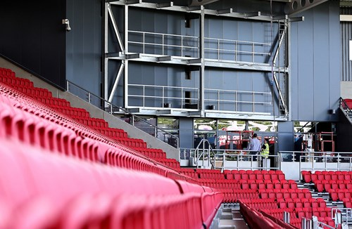 Big Screens Arrive At Ashton Gate