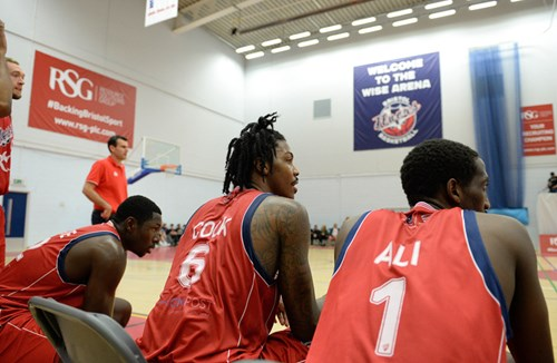 Gallery: Bristol Flyers 72-92 Worcester Wolves