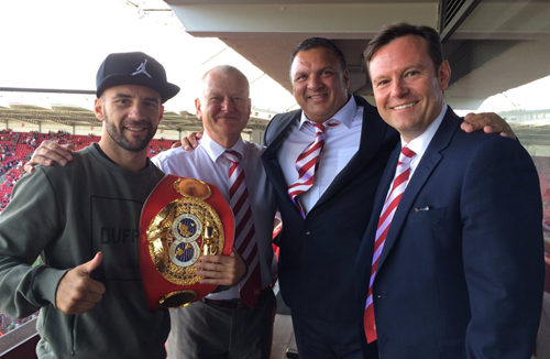 World Champion Lee Haskins Drops Into Ashton Gate
