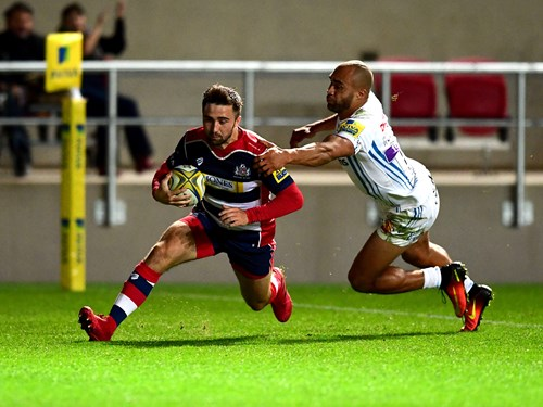 REPORT: Bristol Rugby 17 - 41 Exeter Chiefs