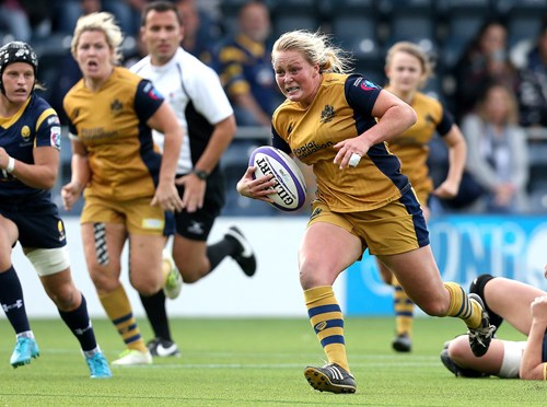 Bristol Ladies Back Row Selected For England's All Blacks Clash